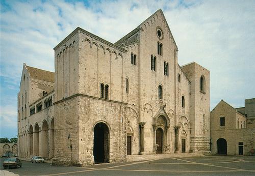 Kathedrale San Nicola - Bari, Apulien, Italien