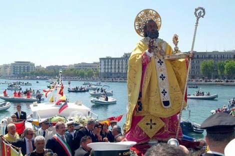 Das Fest des Hl. Nikolaus, Bari - Apulien