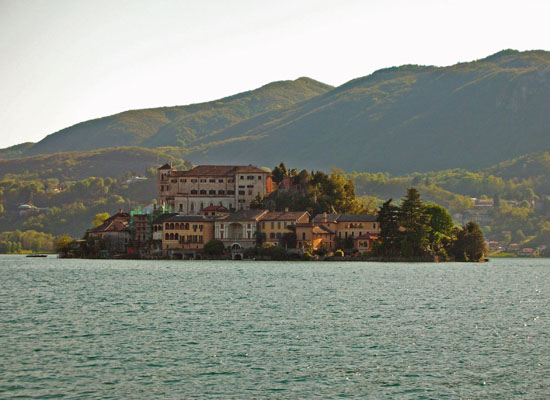 San Giulio Island, Lake Orta