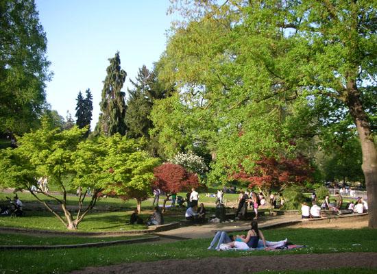 Sommer in Turin - Valentino Park