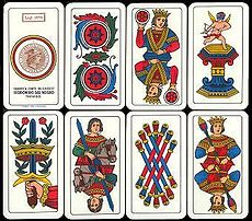 Italian traditions: Scopa card game