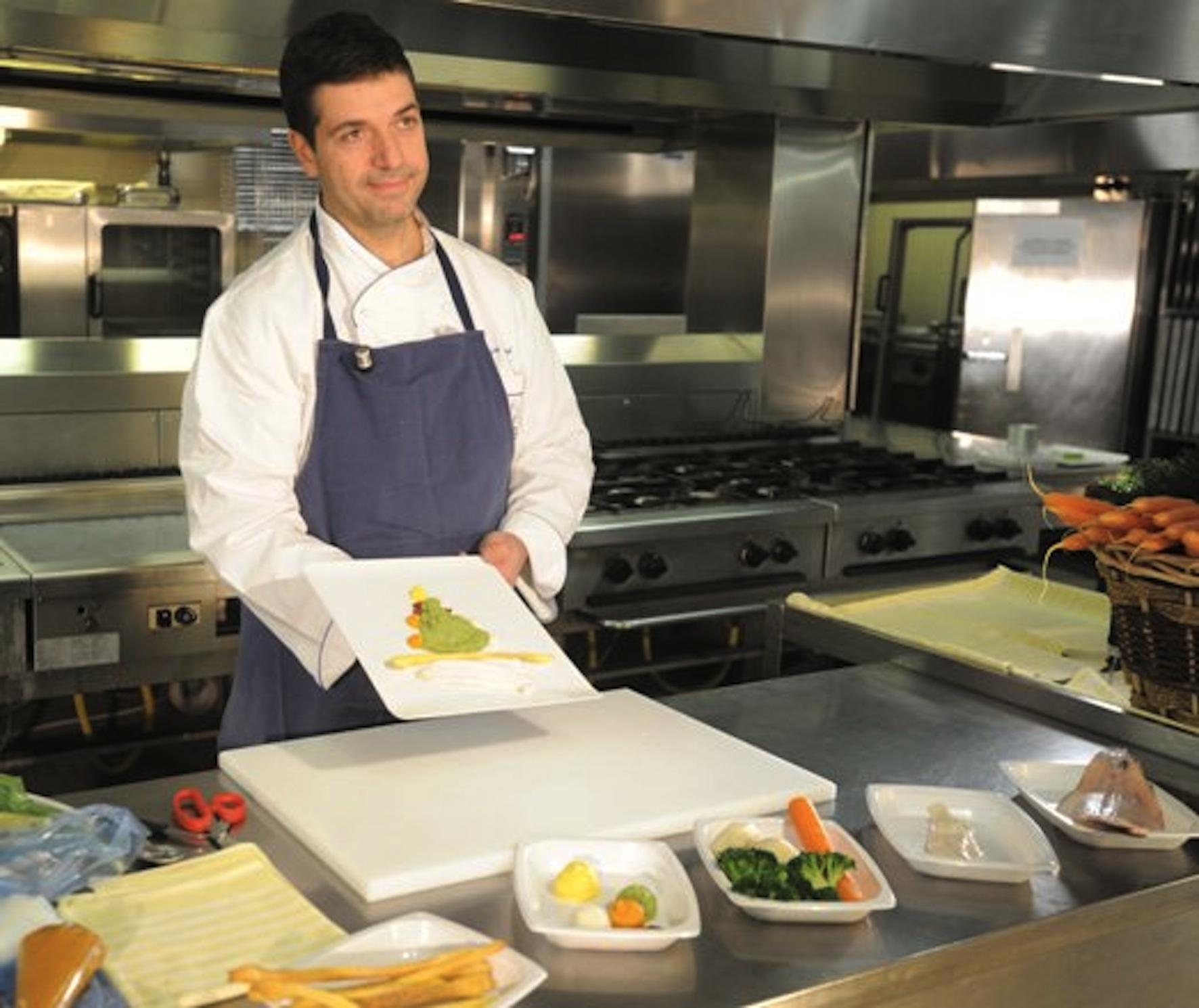 Chef Luca Collami - Genova, Liguria