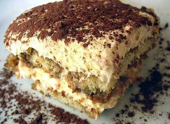 Recipe for Tiramisù Italian dessert