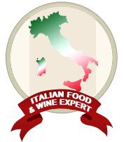 Italienischer Ess-- und Wein-Experte