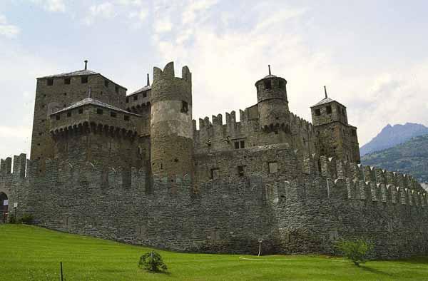 Fénis Castle - Aosta Valley Castles, Valle d'Aosta