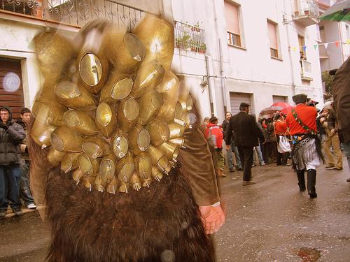 Carnival in Sardinia - Mamuthones