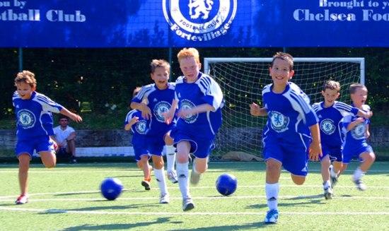 Family holidays - Summer 2012, Chelsea football school at Forte Village Resort