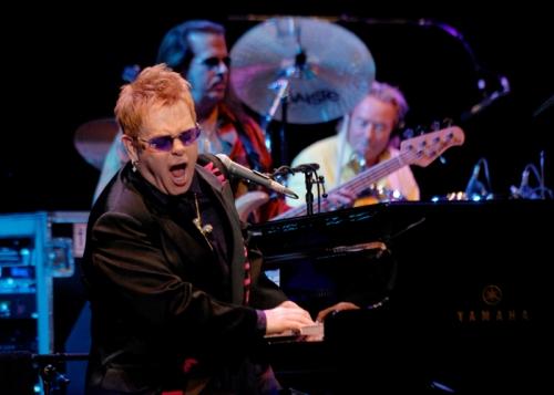 Elton John, Summer Events in Costa Smeralda, Cala di Volpe Hotel, Starwood