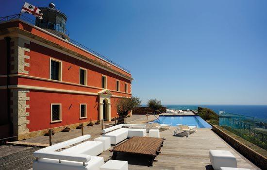 Top 5 small charming Hotels in southern Italy - Faro di Capo Spartivento