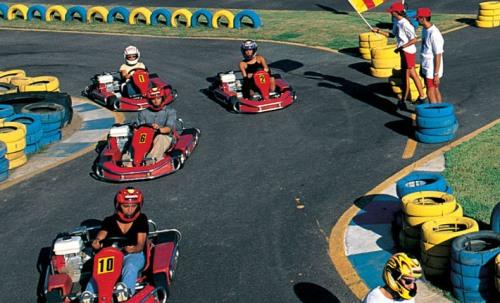 Go Kart at Forte Village Resort