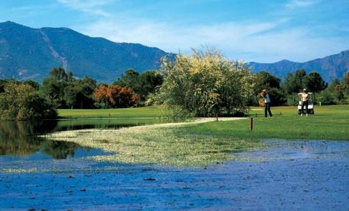 Is Molas Golf Club near Forte Village Resort