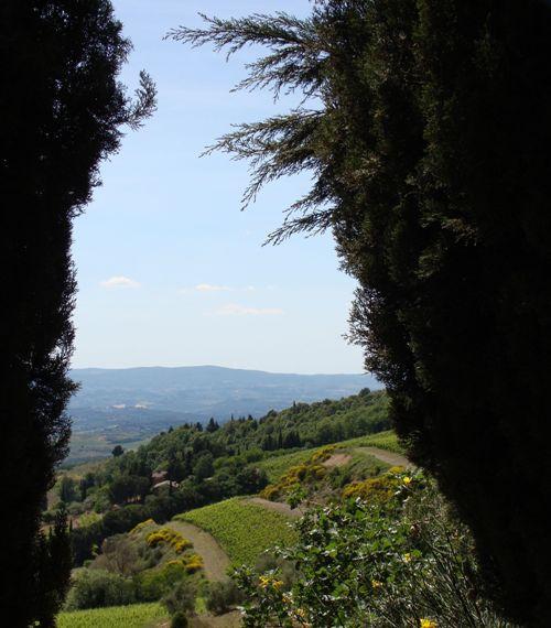 Landscape Chianti, Tuscany