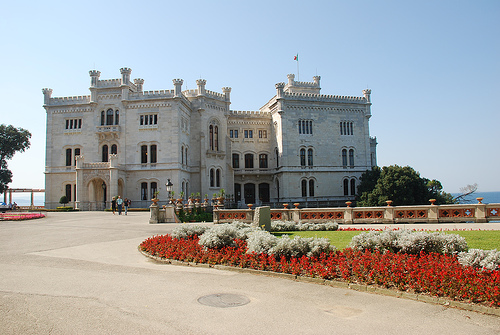 Italian Chef Interview - Miramare Castle, Trieste