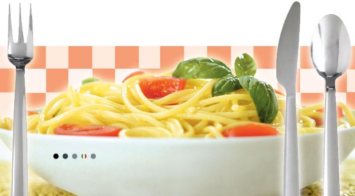 Italian Pasta - Sauce and condiments