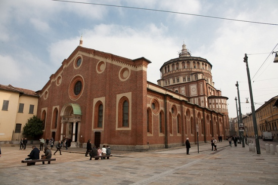 A week-end in Milan: 10 things to do and see - Santa Maria delle Grazie