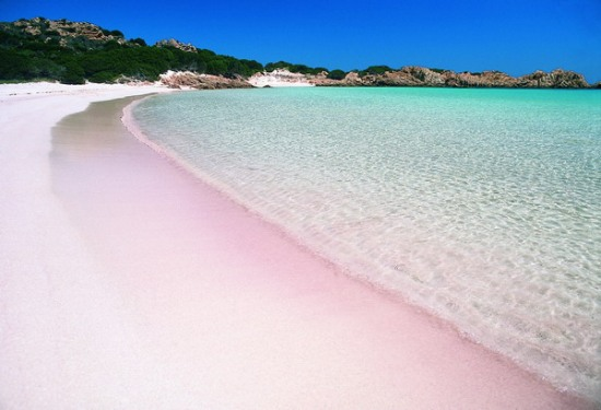 Best beaches in Sardinia: Spiaggia Rosa Beach