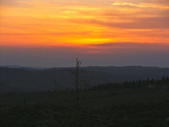 Sunset Chianti, Tuscany