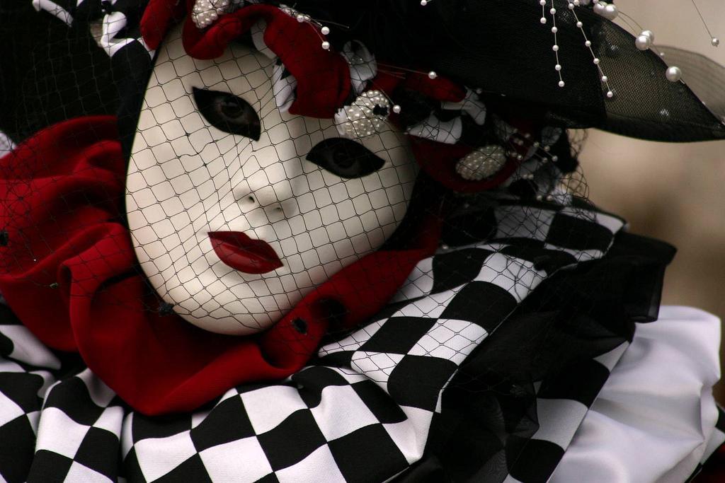 Mask of Venice, City of Love - Flickr Photo Credits: Alaskan Dude