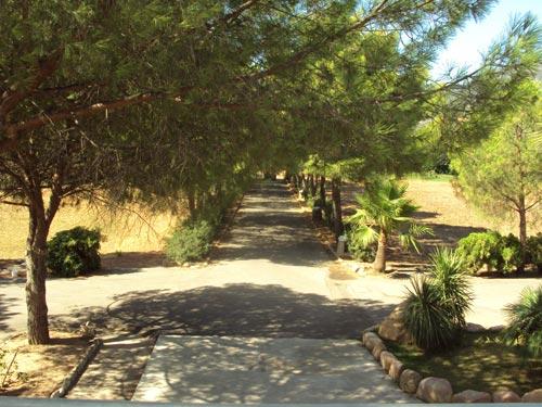 Villa del Borgo entrata - Vista dalla Terrazza